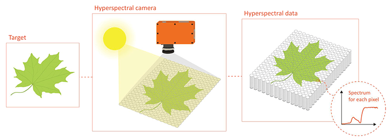 Hyperspectral Camera Mechanics